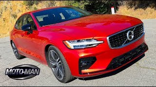 Download 2019 Volvo S60 T6 AWD FIRST DRIVE REVIEW: This or a Mercedes C Class . . . (2 of 2) Video