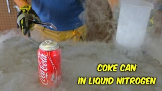 Download What Happens If You Put Coke Can in Liquid Nitrogen Video