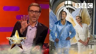 Download When Stephen Merchant came toe to toe with THE ROCK! 💪 - BBC The Graham Norton Show Video
