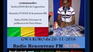 Download Mali: Débat - Elections Communales 2016 Niang - Diawara - NDiaye Video