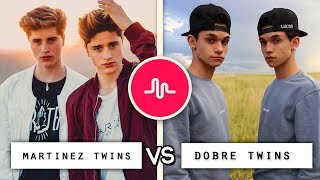 Download Dobre Twins vs Martinez Twins Musical.ly Video Compilation / Who's the Best Video