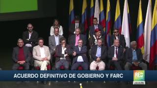 Download Acuerdo definitivo de Gobierno y Farc Video