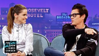 Download Johnny Knoxville & Amanda Peet Are Very Competitive Parents Video
