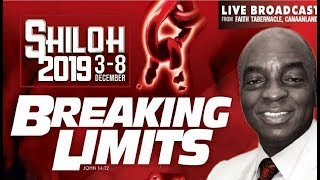 Download REPLAY HOUR OF VISITATION | BREAKING LIMITS | | BISHOP DAVID OYEDEPO | #NEWDAWNTV | SHILOH2019 Video