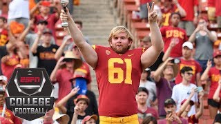 Download USC's long snapper, who is blind, talks about his inspirational journey to the field | ESPN Video