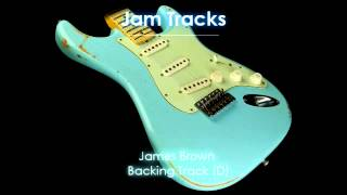 Download James Brown Funk Backing Track (D) - TheGuitarLab - Video