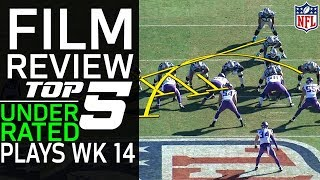 Download Top 5 Underrated Plays of Week 14: What You Didn't See that Made them Successful | NFL Network Video