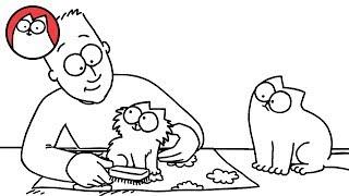 Download Pawtrait - Simon's Cat | SHORTS #38 Video