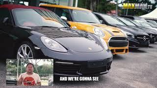 Download Poor guy tries to buy a Porsche - Maxmantv Video
