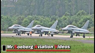 Download ACTION Typhoons + TORNADO's, German AF at Nörvenich Video