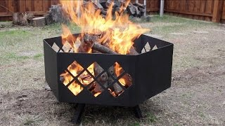 Download Building a Custom Steel Fire Pit Video