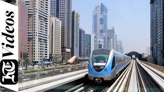 Download How Dubai Metro runs the world's longest driverless train system Video