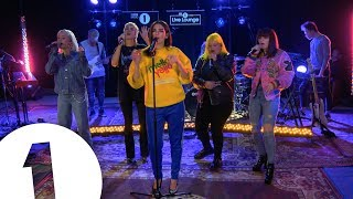 Download Dua Lipa - IDGAF ft. Charli XCX, Zara Larsson, MØ, Alma, in the Live Lounge Video