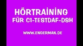 Download Hörtraining für C1-TestDaF-DSH | Hörverstehen für Oberstufe #5 Video