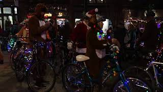 Download Cyclists light up Knoxville during 2017 Tour de Lights Video