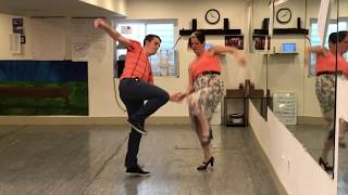 Download Learn to Swing Dance Lindy Hop | Level 7 Lesson 5 (Leading Jazz Steps Part ) | Shauna Marble Video