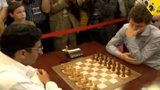 Download Anand vs Carlsen - 2013 Tal Memorial Blitz Chess Video