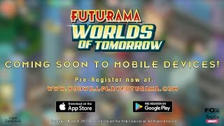 Download Futurama: Worlds of Tomorrow Teaser Trailer Video