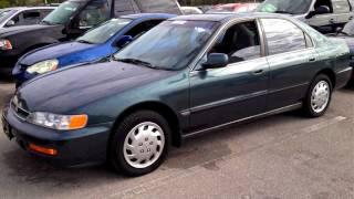 Download 1996 Honda Accord LX Start Up, Quick Tour, Rev - 127K Video