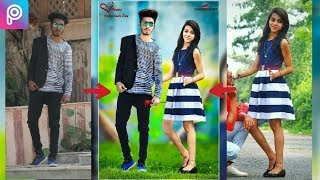 Download Picsart Valentine day editing || Valentine day Romantic movie poster editing|| Picsart manipulation Video
