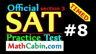 Download 💪Most Powerful SAT Math Strategies for 2018! example problems (Section 3, SAT Practice Test #8) Video