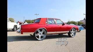 Download WhipAddict: Kandy Red Chevrolet Caprice LS on Vellano VTT 28s, Custom Interior & Trunk Video