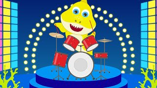 Download Baby Shark Finger Family Disco Version   Learn Music and Dance with Baby Shark Nursery Rhymes Video