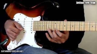 Download 35 Blues Licks Guitar Lesson Video