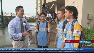 Download Honolulu LLWS champions honored at Kamehameha Schools Kapalama Video