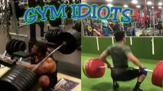 Download Gym Idiots - Heavy Squat and Clean Fails Video