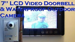 Download 1byone 7″ Color LCD Video Doorbell Intercom Review & Install - VP-0033 Video