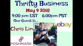 Download Thrifty Business Season 5 #21 The Return Of 10kOnTheBay Chris Lin Talking Ebay & Poshmark Video