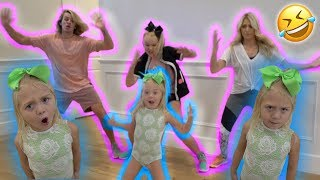 Download EVERLEIGH TEACHES US HOW TO DANCE **HILARIOUS**! With Cole&Sav Video