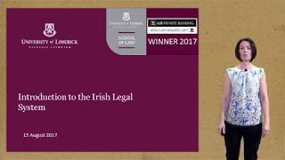 Download Lecture 1 The Irish legal system Video