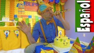 Download Blippi Español Aprende en el Patio Cubierto de Juegos | Videos Educativos para Niños Pequeños Video