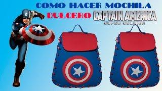 Download COMO HACER DULCEROS DEL CAPITAN AMERICA/MOCHILA GOLOSINERO,AGUINALDOS EN FOAMI Video