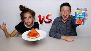 Download POP TARTS vs REAL FOOD!! Video