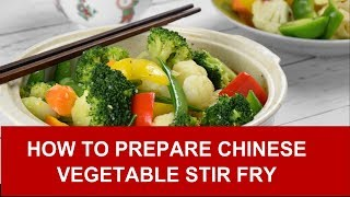 Download Vegetable stir fry – How to prepare in four easy steps (with in-depth explanation) Video