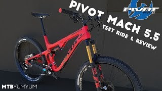 Download 2018 Pivot Mach 5.5 Test Ride & Review at Outerbike in Moab, Utah Video
