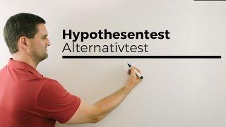 Download Hypothesentest, Alternativtest, Stochastik, Statistik | Mathe by Daniel Jung Video