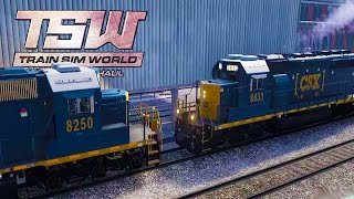 Download WHEN TRAINS CRASH! Train Cold Start + Turntable - Train Sim World: CSX Heavy Haul Gameplay Ep 2 Video