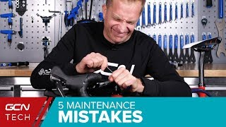 Download Worst Bicycle Maintenance Mistakes You Must Avoid! | GCN Tech's Top 5 Video
