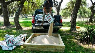 Download Building A Sandbox For My Kids Video