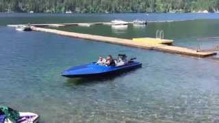 Download Jet Boat startup and takeoff Video
