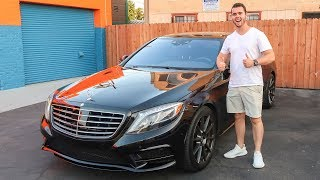 Download WRAPPING THE MERCEDES S550! Video