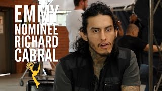 Download 'American Crime's' Richard Cabral Tears Up as He Describes Gang Upbringing Video