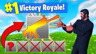 Download The *ONE GUN* CHALLENGE In Fortnite Battle Royale! Video