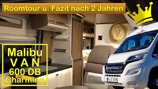 Download Malibu Van 600DB Charming - Roomtour und Fazit nach 2 Jahren Video