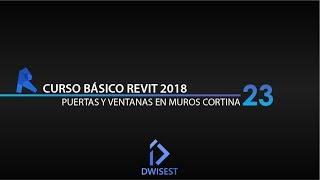 Download Revit 2018 - Puertas y ventanas en muros cortina - Tutorial básico 23 Video