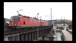 Download ► Bahnverkehr in Olten Hammer [Mai 2015] Video
